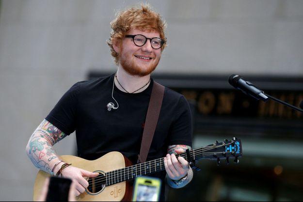 Ed Sheeran à New York, le 6 juillet 2017.