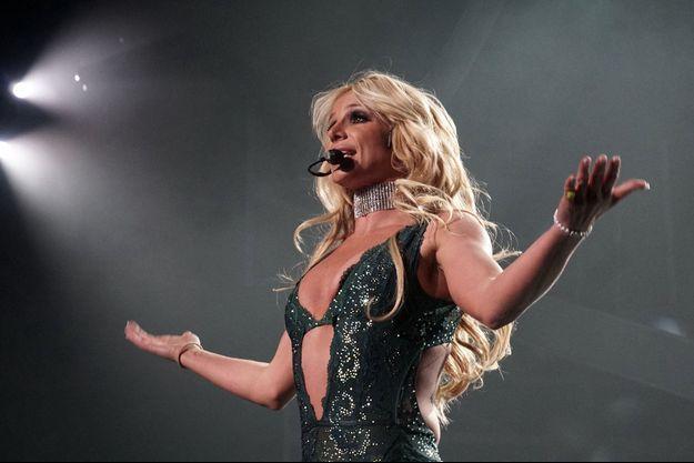 Britney Spears sur scène en 2017.