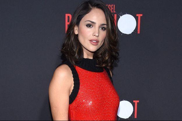 Eiza González à Los Angeles en mars 2020.