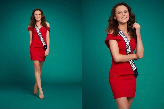 Gwenegann Saillard, Miss Champagne-Ardenne 2020.