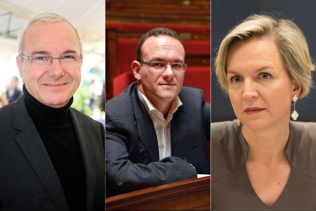 Jean Leonetti, Damien Abad et Virginie Calmels