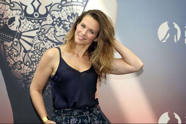 Lorie Pester au Festival de télévision de Monte-Carlo en 2018