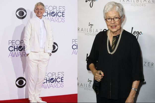 Ellen et sa mère Betty DeGeneres