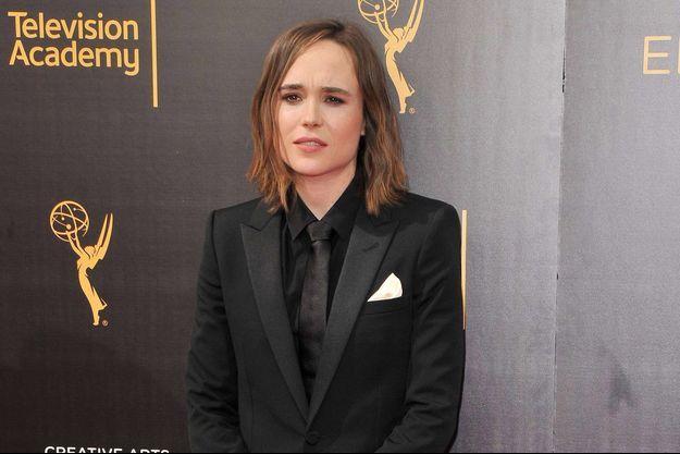 Ellen Page aux Emmy Awards à Los Angeles, le 11 septembre 2016.