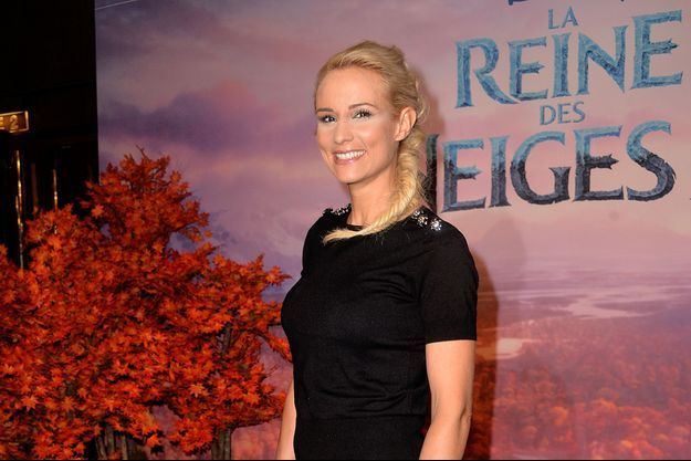 Elodie Gossuin à Paris en novembre 2019.