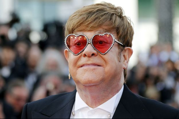 Elton John à Cannes, le 16 mai 2019