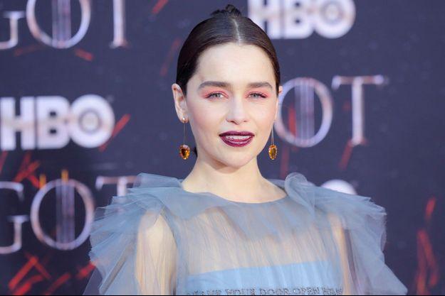 Emilia Clarke, en avril 2019.