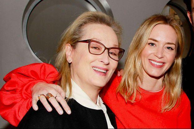 Meryl Streep et Emily Blunt