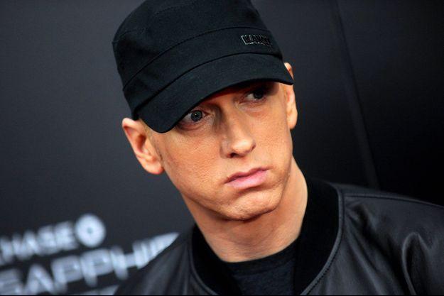 Eminem à New York. Le 20 juillet 2015