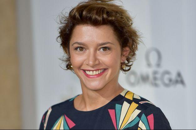 Emma de Caunes, le 29 septembre 2017 à Paris