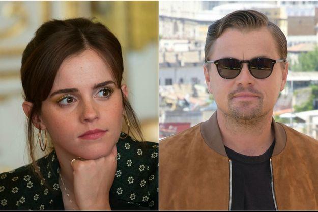 Emma Watson et Leonardo DiCaprio.