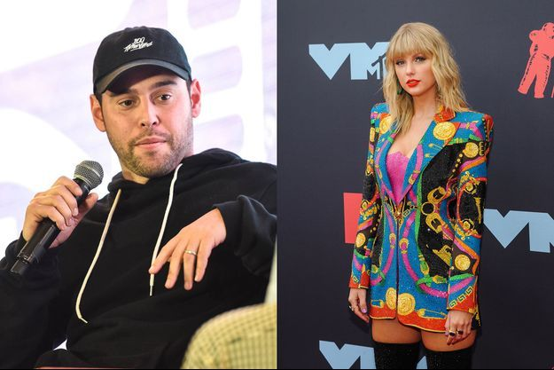 Scooter Braun et Taylor Swift