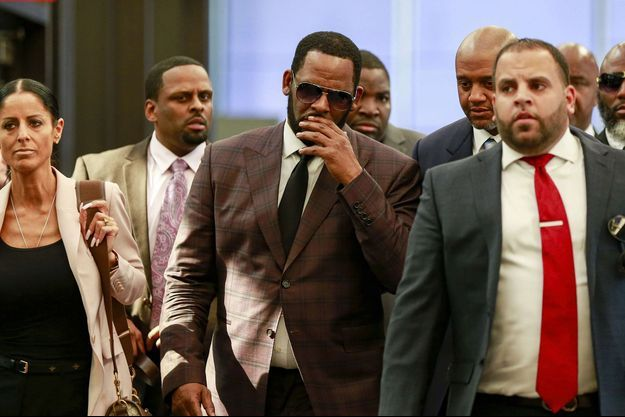 R. Kelly au tribunal de Chicago le 26 juin 2019