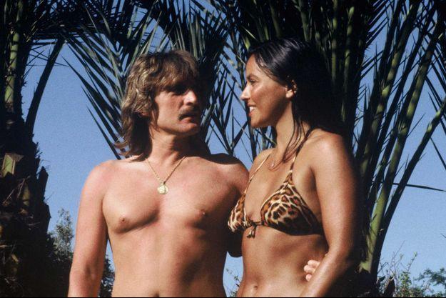 Christophe et Véronique en 1980, au Maroc.