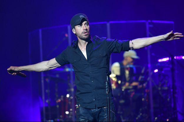 Enrique Iglesias en concert à Rome en mai 2019