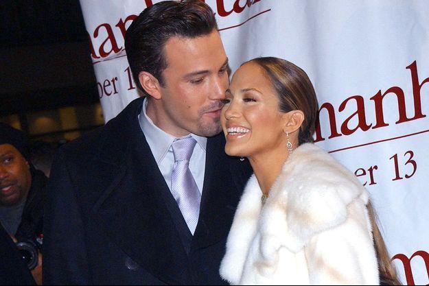 Ben Affleck et Jennifer Lopez en 2002.