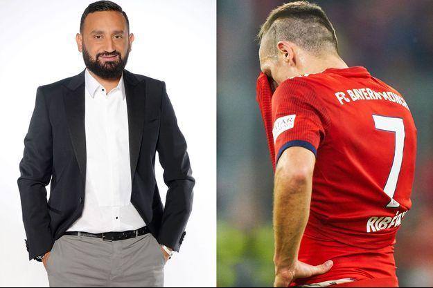 Cyril Hanouna et Franck Ribéry.