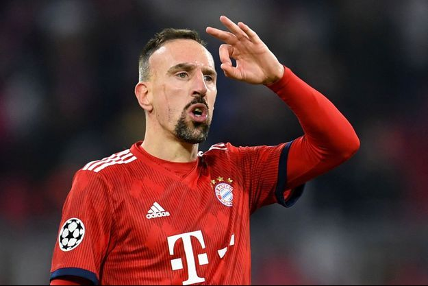Franck Ribéry lors d'un match du Bayern Munich, en novembre dernier.