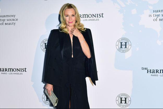 Estelle Lefébure, le 22 mai 2017 à Cannes.