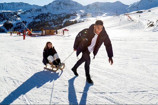 Tony a du punch, même sur la neige. Mais il ne remontera sur le ring qu'au printemps prochain. Estelle prévoit de faire une pause d'un an.