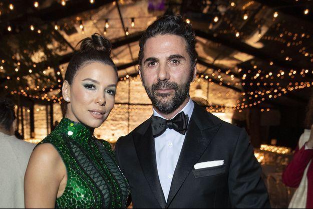 Eva Longoria et son époux José Antonio Baston à Cannes, le 19 mai 2019