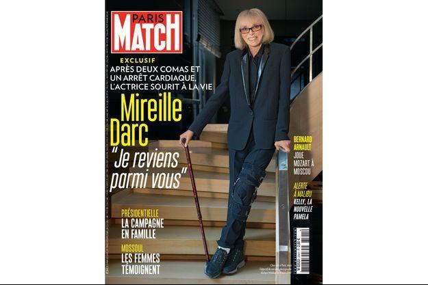 La couverture du numéro 3541 de Paris Match