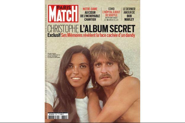 Une des images confiées à Match par sa femme, Véronique. Le couple en août 1979.