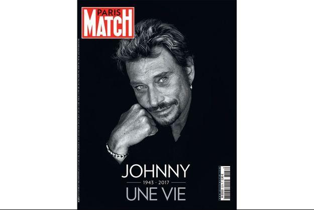 La couverture du numéro 3578 de Paris Match