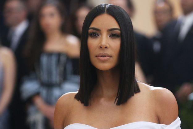 Kim Kardashian à New York le 1er mai dernier.