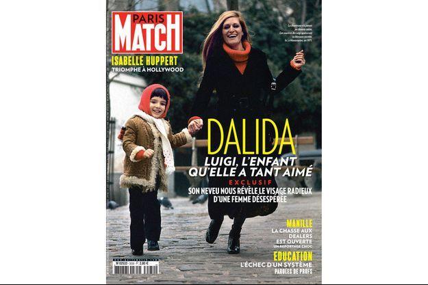 Luigi et Dalida en une de Paris Match