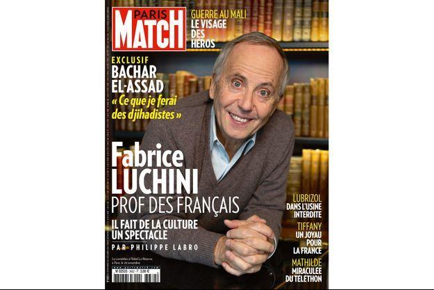 Le comédien à l'hôtel La Réserve, à Paris, le 20 novembre.