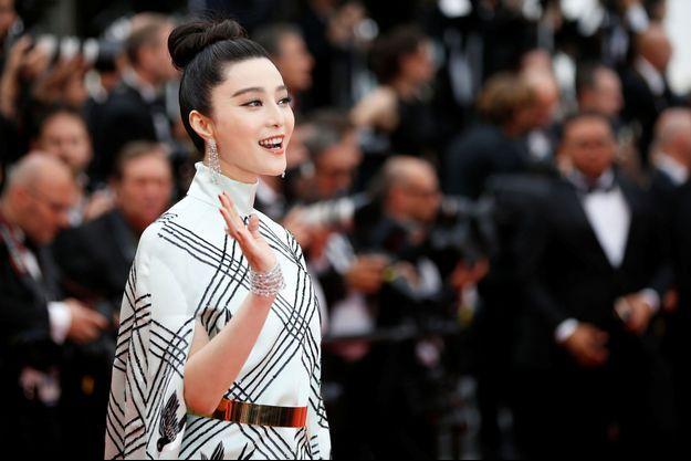 Fan Bingbing au Festival de Cannes en mai 2017.