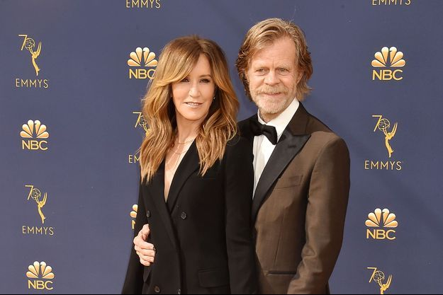 Felicity Huffman et son mari William H. Macy à Los Angeles, le 17 septembre 2018