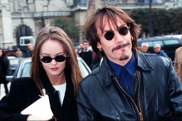 Vanessa Paradis et Florent Pagny à la fin des années 80
