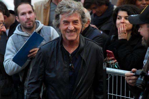 """François Cluzet ici en avril 2019 à la première de """"Nous finirons ensemble"""""""