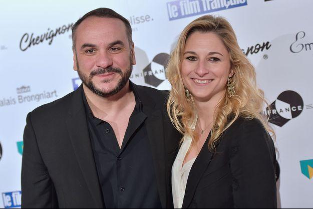 François-Xavier Demaison et Anaïs Tihay