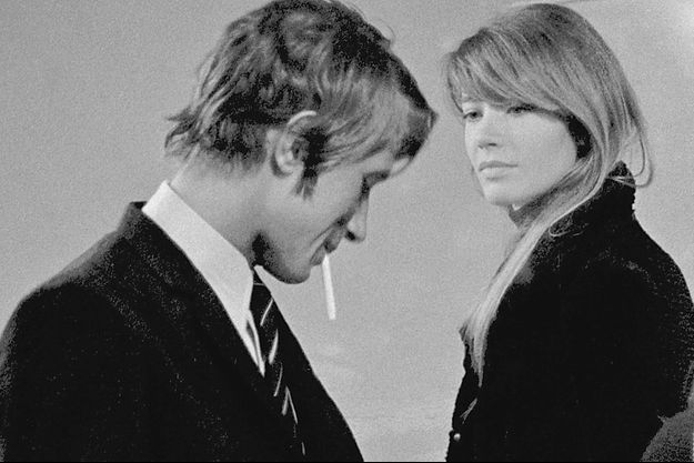 Françoise Hardy et Jacques Dutronc en 1967.
