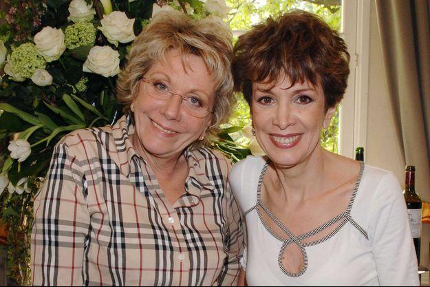 Françoise et Catherine Laborde en 2006.