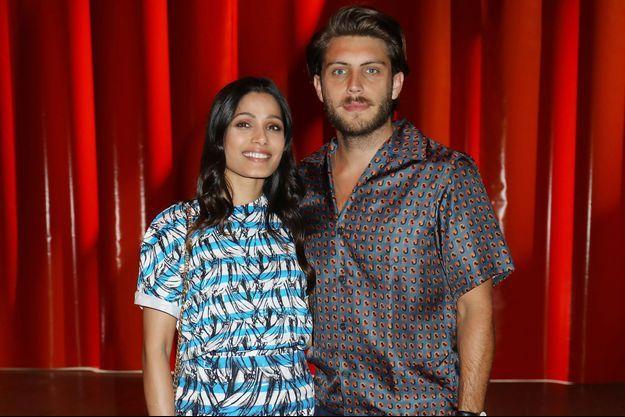 Freida Pinto et Cory Tran