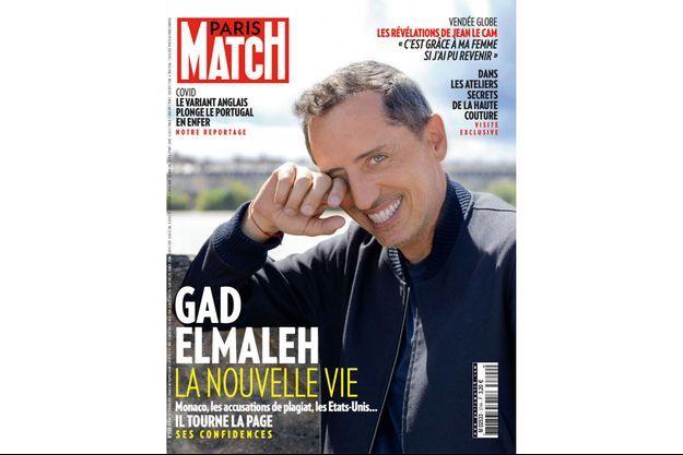 Gad Elmaleh en couverture de Paris Match.