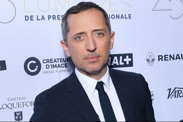 Gad Elmaleh à Paris en janvier 2020.