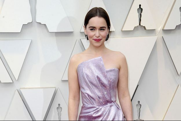 Emilia Clarke à Hollywood, le 24 février 2019
