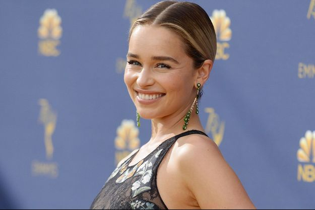 Emilia Clarke aux Emmy Awards, le 17 septembre.
