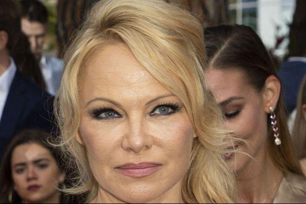 Pamela Anderson en mai, à Monaco.