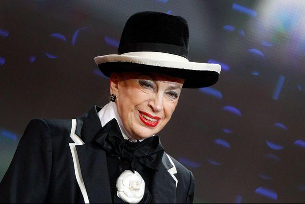 Geneviève de Fontenay, ici en 2011 lors du Téléthon.