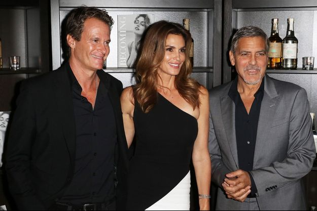 Rande Gerber, Cindy Crawford et George Clooney