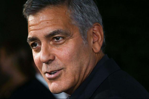 George Clooney à Los Angeles en octobre 2016.