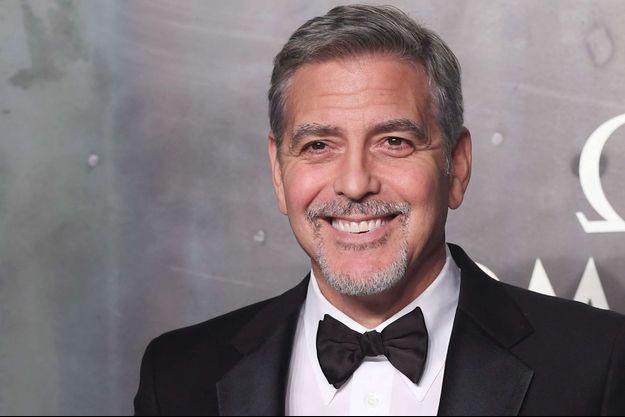 George Clooney à Londres en avril 2017.