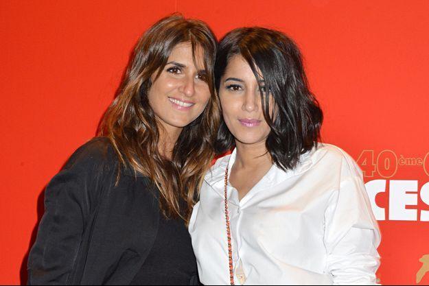 Géraldine Nakache et Leïla Bekhti en 2015 à Paris