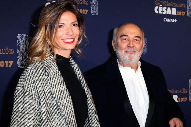 Gérard Jugnot et sa compagne
